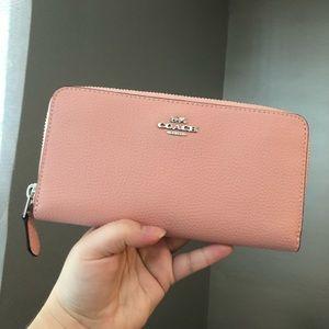 Light pink Coach wallet!